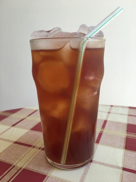 vegetarian bbq - Sweet Iced Tea