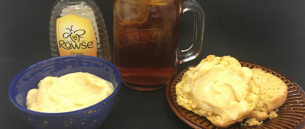 cornmeal scones afternoon tea