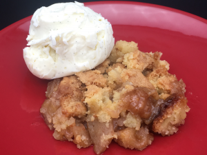 apple crumble recipe uk