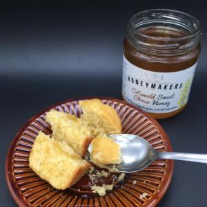 american cornbread honey square