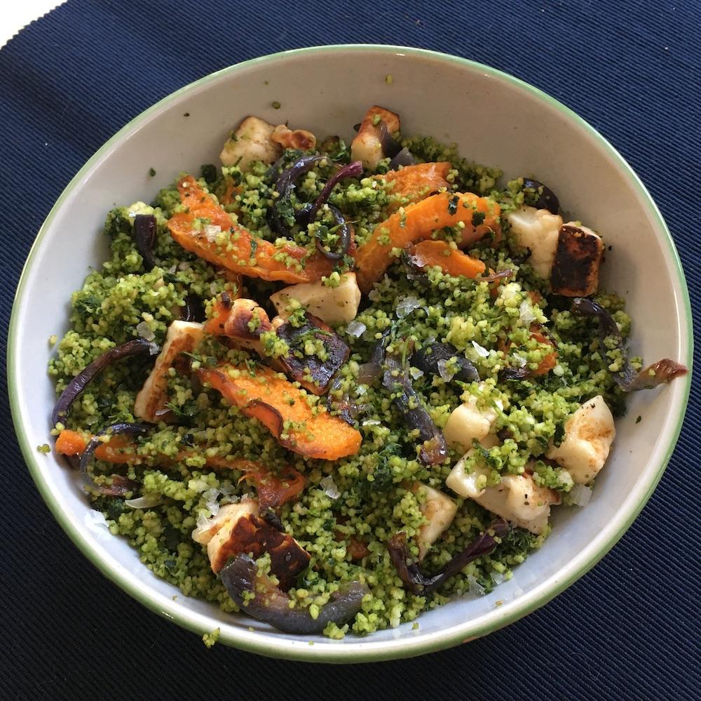 couscous butternut squash salad