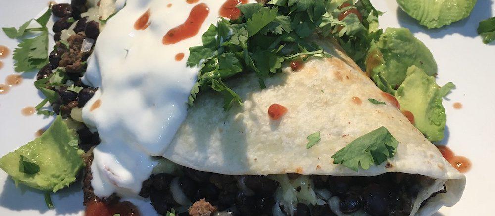 beef burrito recipe finished