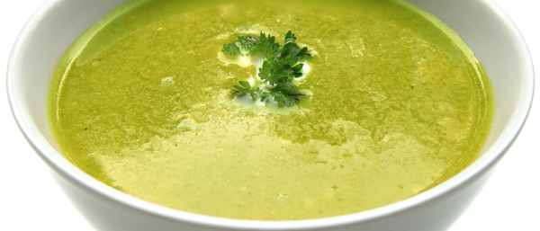 Courgette & Spinach Soup
