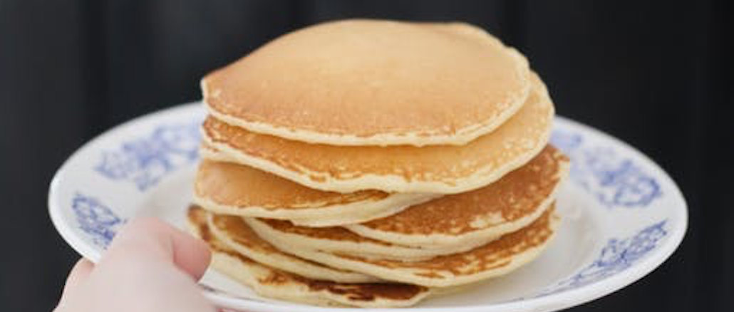 pancake recipe uk