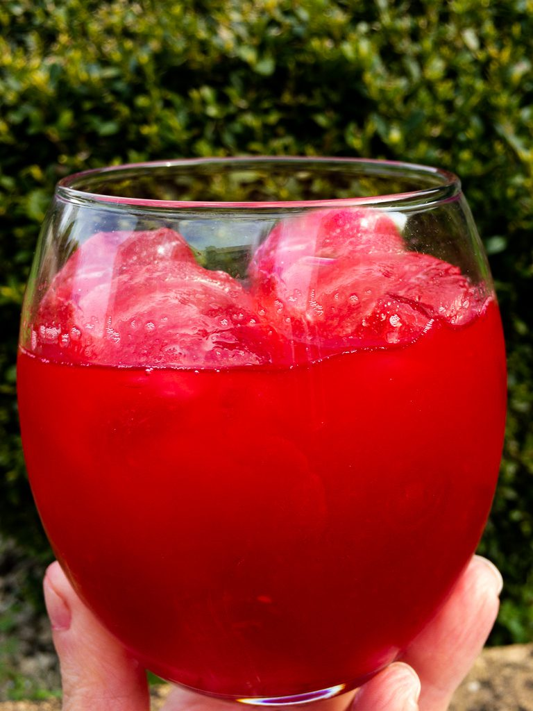 uk bbq recipes - raspberry lemonade