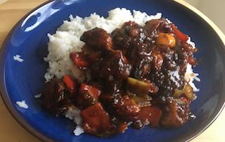 spicy chinese crispy chicken