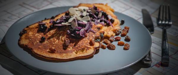 California Quinoa Pancakes