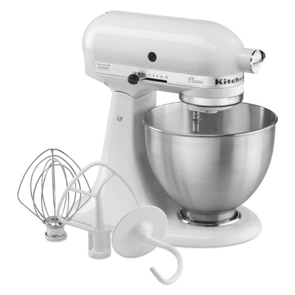 In a stand mixer fitted with a mixer attachment, cream together the butter and the sugar on low speed.