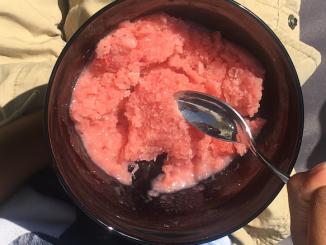 dairy free ice cream strawberry