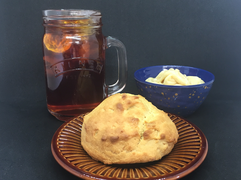 cornmeal scones afternoon tea
