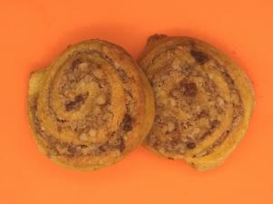 Pumpkin Swirl Cookies