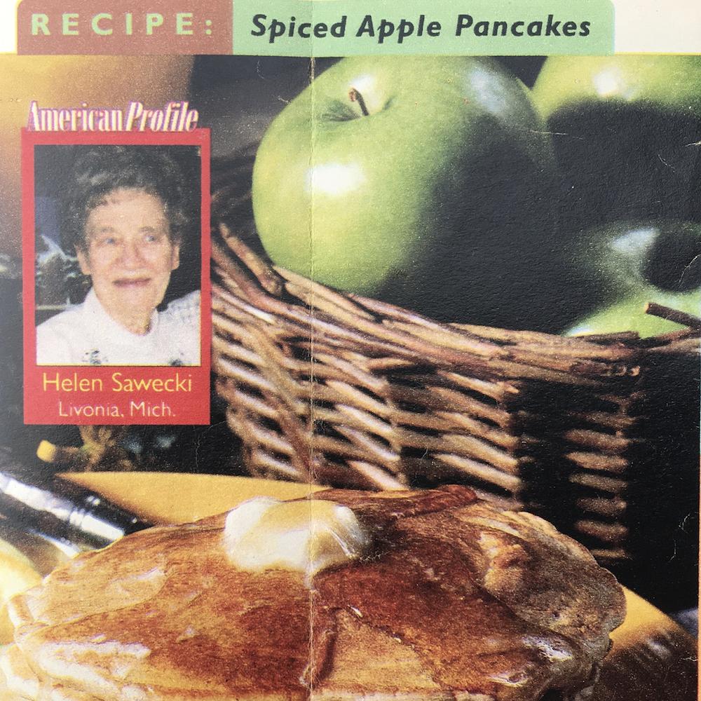 apple pancakes uk