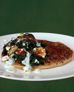 halloumi spinach recipe