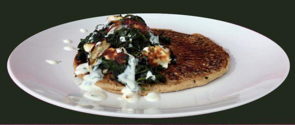Spinach & Halloumi Pancakes