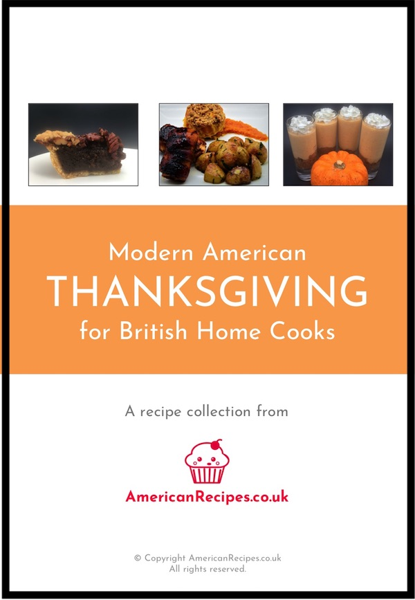 American Thanksgiving Recipes UK