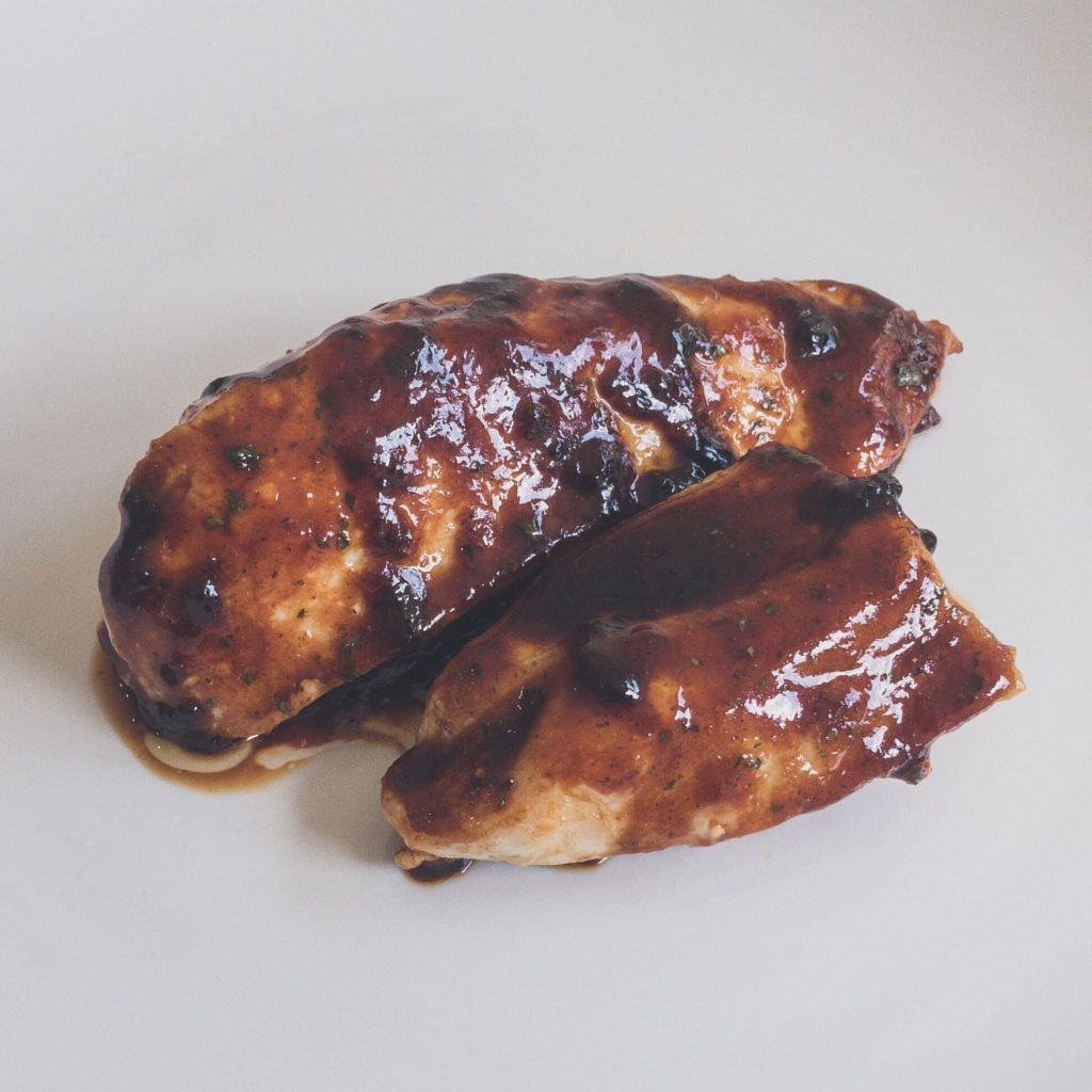 homemade American BBQ sauce for chicken