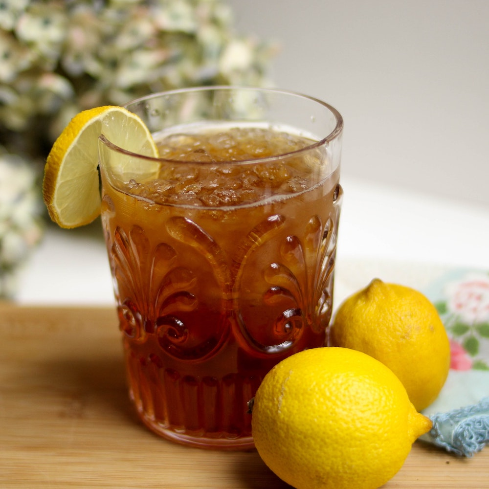 American Sweet Iced Tea Recipe Americanrecipes Co Uk