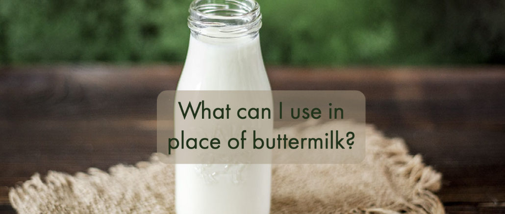 buttermilk alternatives
