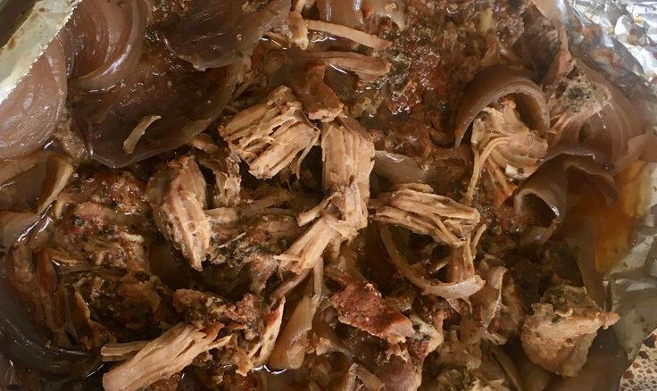 slow roast pulled pork