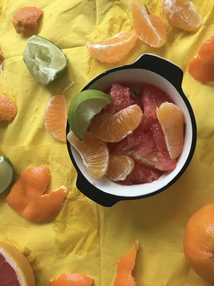 citrus - original - salad yellow